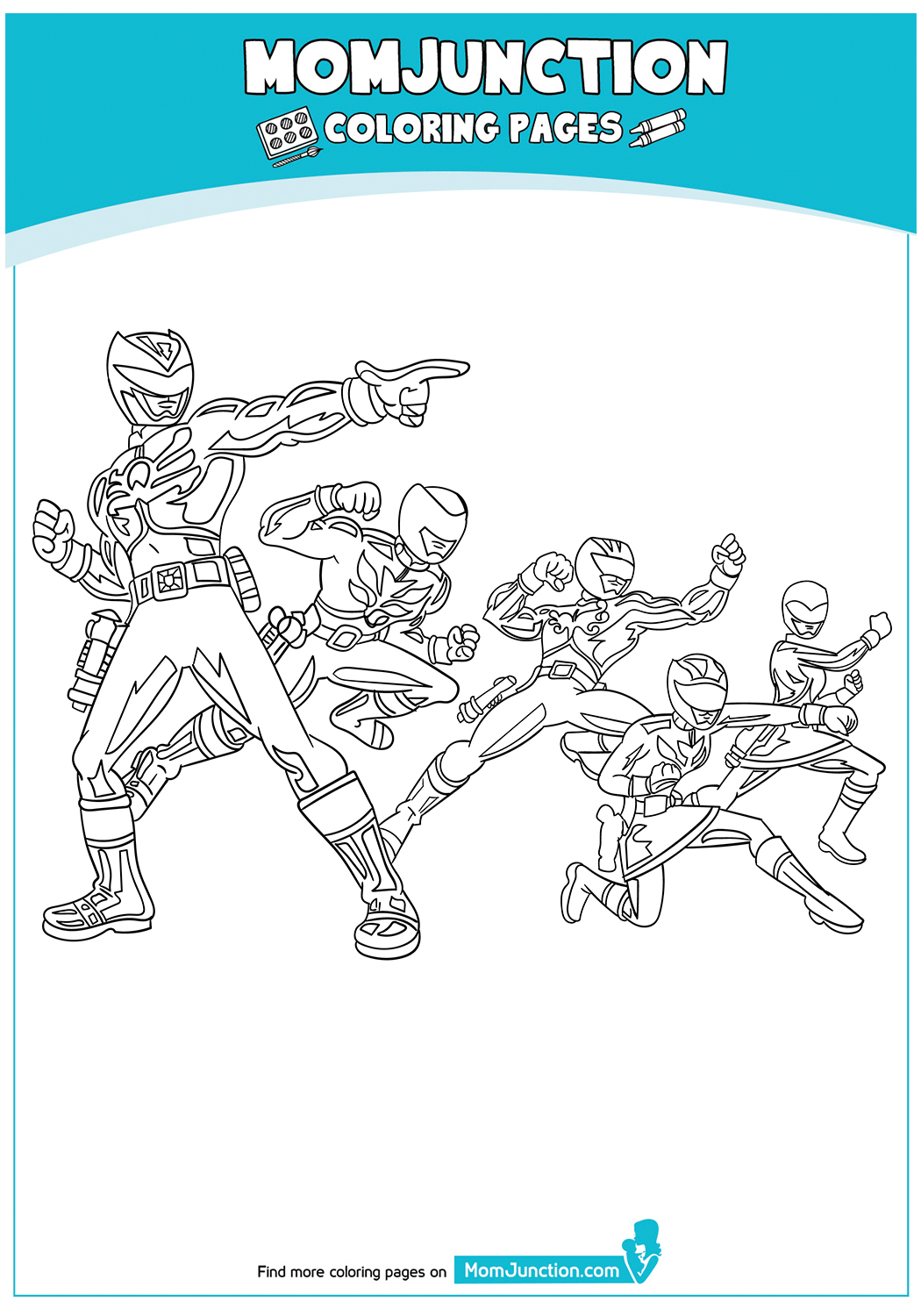 Power-Rangers-Coloring-Page-Inspiring-17