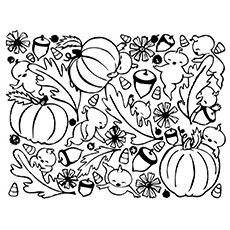 Mesmerizing pumpkin vector images
