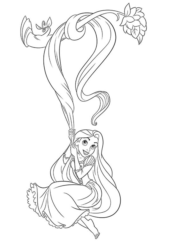 Rapunzel-Hanging-To-A-Tree-16