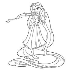 Rapunzel Painting 16
