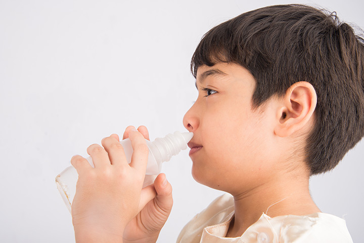 Saline dropswarm saline water