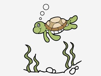 10 Cute Sea Turtle Coloring Pages Your Toddler Will Love To Color