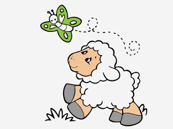 25 Funny Sheep Coloring Pages Your Toddler Will Love