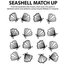 Shells-16 coloring pages