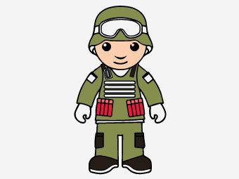 Top 10 Soldier Coloring Pages For Your Toddler