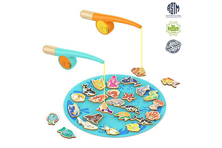 TOP BRIGHT Toddler Fishing Game Gifts