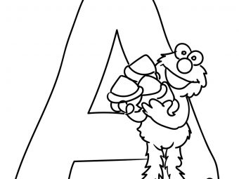 Top 10 Letter A Coloring Pages For Your Little Ones