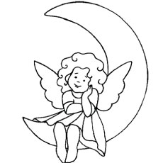 The-Angel-On-The-Moon