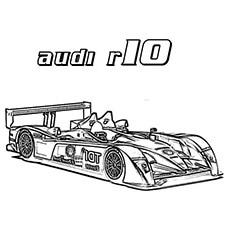 The Audi R10 Car
