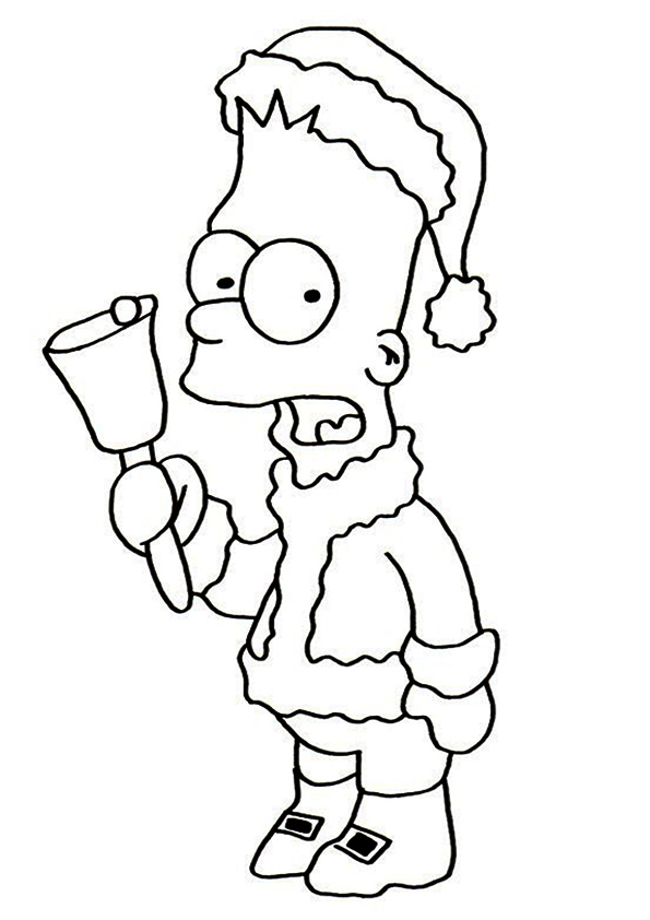 The-Bart-As-Santa