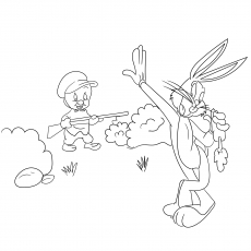 The Bugs Bunny Coloring pages