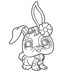 coloring pages of character buttercream sunday