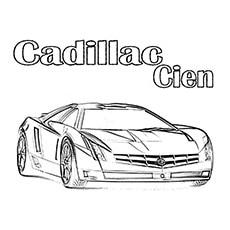The Cadillac Cien Car