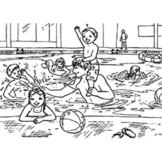 The-Daddy-Teaches-Swimming