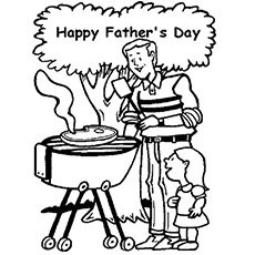 Top 20 Free Printable Father\'s Day Coloring Pages Online