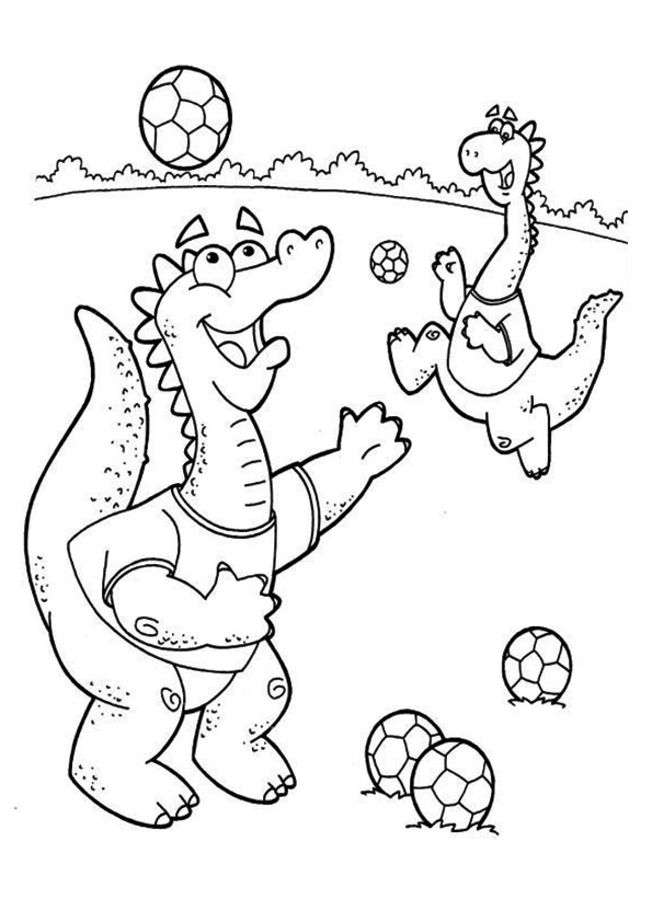 The-Dinosaurs-Playing-Football
