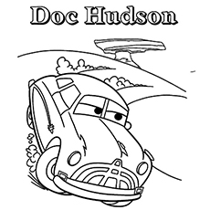 Good 10 Funny Disney Cars Coloring Pages For Your Little Ones
