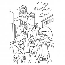 Top 10 \'The Incredibles\' Coloring Pages Your Toddler Will Love To Do
