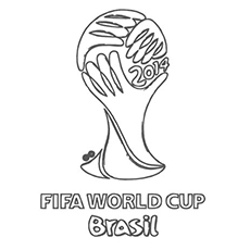 FIFA Soccer World Cup Coloring Pages