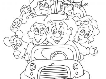 Top 10 Family Coloring Pages For Your Toddler