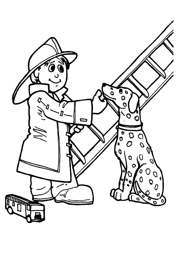 The-Fireman-With-Dalmatian