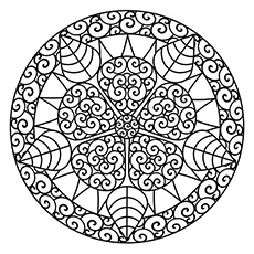 abstract beautiful design coloring pages