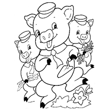 picture regarding Three Little Pigs Printable identify Best 10 Absolutely free Printable 3 Very little Pigs Coloring Web pages On the internet