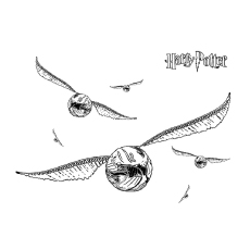 photo about Golden Snitch Printable identified as Supreme 20 Totally free Printable Harry Potter Coloring Internet pages On the web