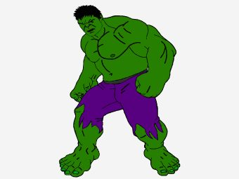25 Incredible Hulk Coloring Pages For Toddler