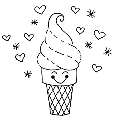 Cookie Swirl C Coloring Pages