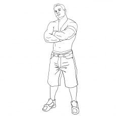 The John Cena Posing