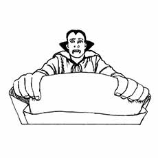 Jonathan Harker Co A Vampire Coloring Pages