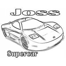 The Joss Super Car