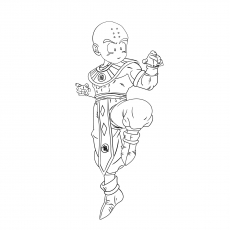 Character Krillin Of Dragon Ball Z Pics Coloring Pages
