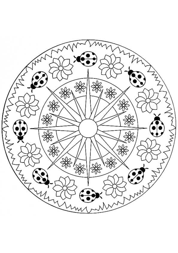 The-Ladybug-Mandala