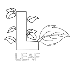 The Leaf coloring images