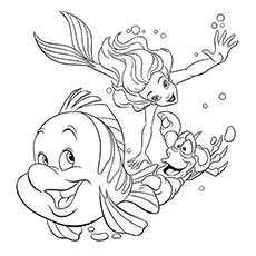 The Little Mermaid And Her Pals 16