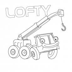 The Lofty Mobile Crane