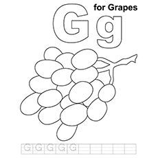 Grapes | Free Printable Templates & Coloring Pages | FirstPalette.com | 230x230