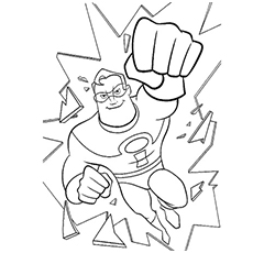 Top 10 The Incredibles Coloring Pages Your Toddler Will Love To Do