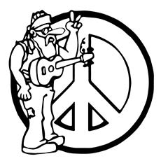Music for a Peace Coloring Pages