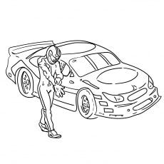 The Nascar Car