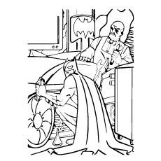 Pennyworth Coloring Pages