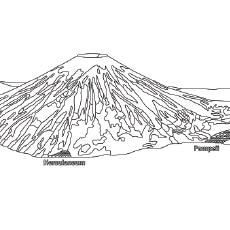 the pompeii volcano