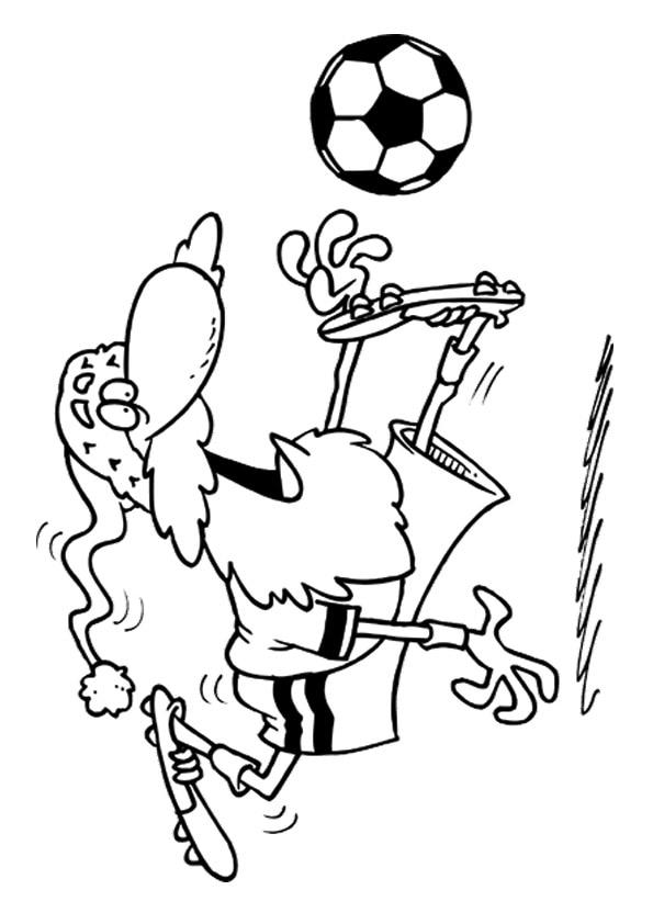 The-Santa-Playing-Soccer