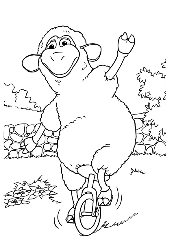 The-Sheep-On-Unicycle