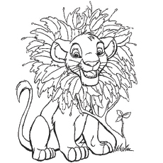 Coloriage Roi Lion 2 likewise The Lion King Coloring Pages Your Toddler Will Love To Do 0082772 also 64 furthermore BGlvbi1raW5nLW11ZmFzYS1kcmF3aW5n moreover How To Draw A Lion Coloring Page. on mufasa the lion king