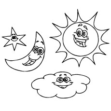Top 10 free printable moon coloring pages online Night Sky Coloring Pages for Adults paw patrol skye coloring pages Night Time Coloring Pages