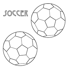 Soccer Coloring Pages Free Printables MomJunction