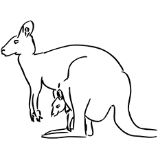 photo about Kangaroo Printable referred to as Final 10 Cost-free Printable Kangaroo Coloring Web pages On the web